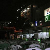 バーンカピの Tesco・Lotus を夜に撮影