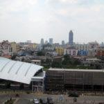 CWP から見えるバンコク都内の街並み