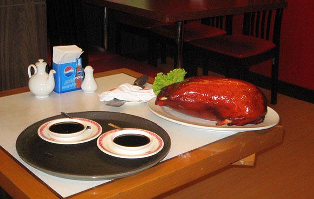 タイの北京ダックは激安で美味い