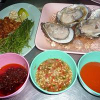 生牡蠣と薬味とタレのセット
