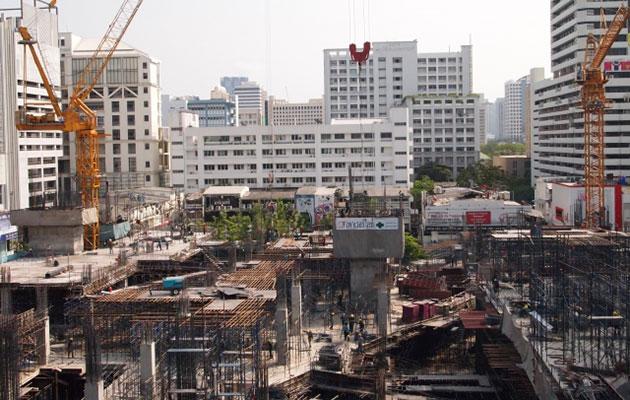タイの首都バンコクで土地高騰による建設ラッシュはいつまで続くのか