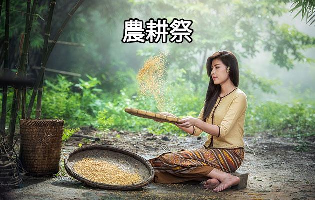 タイの祝日:農耕祭(ワン・プット・モンコン)