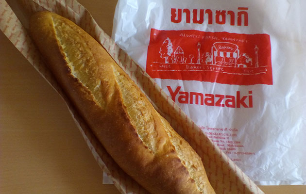 美味しいパンを気軽に購入できるタイのパン屋
