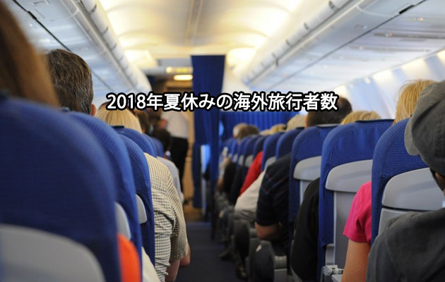 283万人が2018年夏休みに海外旅行